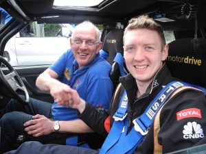 DMC Chairman Dougie Millar and his Son Simon took a fine second place in Class 5 in their VW Golf GTi.