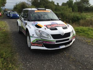 Desi Henry took his Škoda Fabia S2000 to a fine third place partnered by Millstreet's Liam Moynahan.