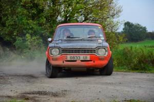 Neil Fletcher gets a great drift on in his BDA engined Mk1 Escort.