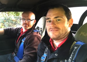 Sean McElhennon and Jason Fullen took the MX5 to 10th place in the large Novice Class for Rear-Wheel-Drive cars.