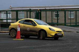 Johnathan Dingley and Nathan Colvin had a great day in their Ford Puma.
