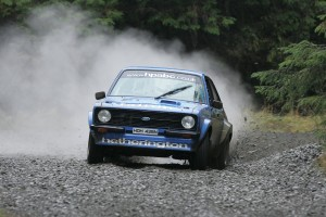Top 2WD and fourth overall was a fantastic result for Adrian Hetherington and Cathal Mulgrew.
