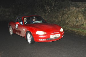 Eric Patterson and Keith Hall had winning pace but were caught out at a secret check near Brantry Wood.