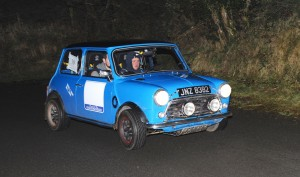 Andrew Mairs and Philip Green, winners of Class 4 for Rally School graduates.