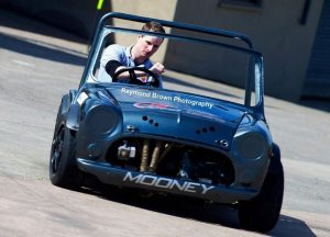 Coagh driver Paul Mooney had to be content with second overall on the day in his Vauxhall-engined Mini Special