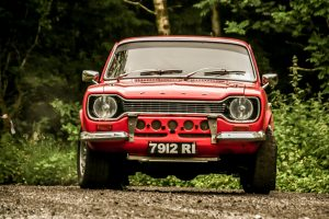 Dermot Carnegie and Mark Fitzsimmon helped break the Mazda monotony with a fine 6th Overall. Photo Leslie McMullan