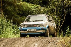 Dougie and Glenn Millar had a great run to 2nd in Class 4. Photo Leslie McMullan