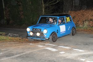 Lisburn crew Andrew Mairs and Philip Green plan to be there in their Classic Mini Cooper after their Class 4 win on the Snowdrop Rally.