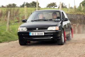 Wicklow driver Eamon Byrne was partnered by Derek Smyth on this event and a fine third overall was the result.