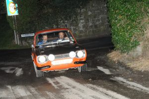 Neil Fletcher and Rodney McCready had a great run in their Mk1 Escort, finishing second in Class 4 for beginners.