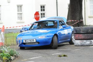 The still reigning NI Navigation Rally Champions from Ballygawley, Cousins Leslie and Gareth Hawe were 7th in Class 6.