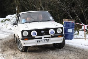 Alan Jardine and Raymond Knox took it to the 23 Mazdas in Class 6 and beat all but two of them.  Great result!