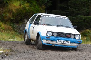 Dougie and Glenn Millar had a close battle all day to win the Class and move up a category next time.