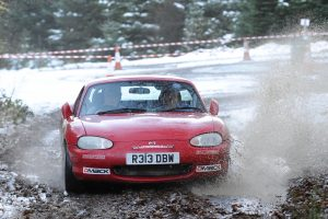 Eric Patterson and Raymond Donaldson were competitive all day in the difficult conditions.