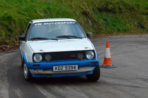Dougie Millar with Son Simon navigating showed they deserved their move up to Class 3 with a fine 3rd in Class. Photo A Hanna.